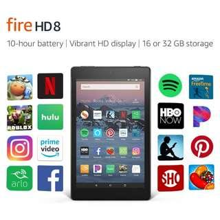 (In-Stock) All-New Fire HD 8 Tablet (2018) 16GB