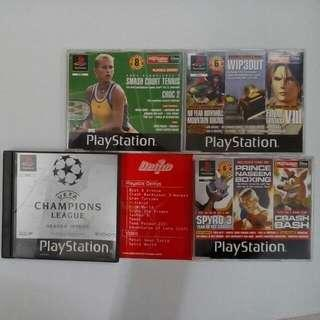 6 FOR RM15 Retro PS1 Demo Games PAL Region