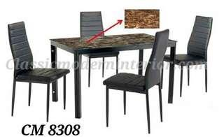Dining Set 4-seater Cm 8308
