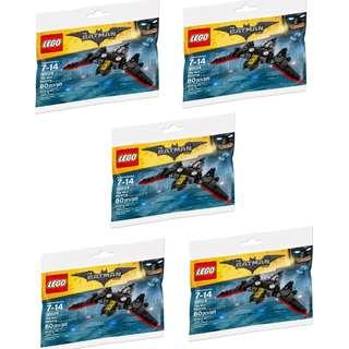 LEGO Super Heroes Mini Batwing Polybag 30524 ( 5 polybags for $30)