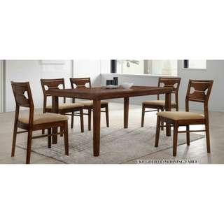 NEW NATURA SOLID DINING SET