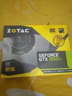 Zotac GTX 1050 Ti 4GB OC Edition