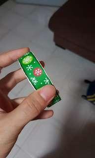 Christmas design snow flakes crosgrain ribbon