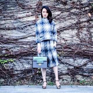 🚚 Dresscode 奧黛麗 法式格紋裙