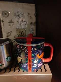 台灣直送 Starbucks 星巴克 聖誕節 聖誕樹 禮物 鹿 水杯 杯