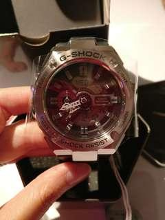 Casio G-shock G-Steel Black and Silver Watch (Gshock 手錶)