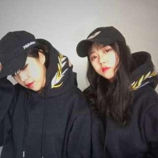 [instock] embroidery hoodie / pullover