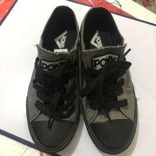 Pony black and grey sneakers (Slight Low)