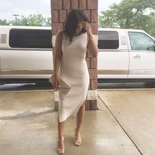 Babaton Ribbed Dress