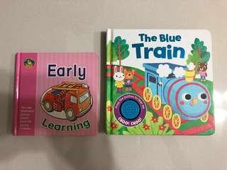 Board books (Early Learning, The Blue Train)