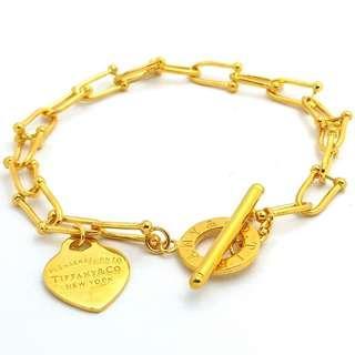 🚚 916 Gold Bracelet
