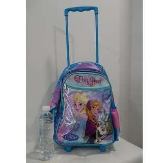 Frozen School Bag Elsa and Anna (with Trolley)