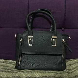 2 way sling black bag from malaysia