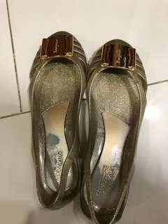 Salvatore Ferragamo jelly shoes authentic