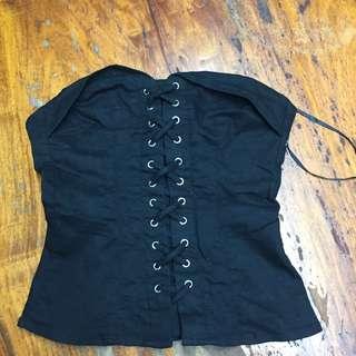 H&m corset top