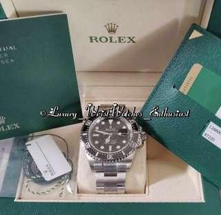 "BNIB Unworn Overseas Set ♛ Rolex Sea-Dweller 43mm 126600 ""Single Red"" Mark 1"