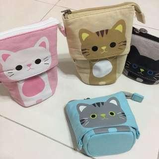 Cute kitty cat pencil case