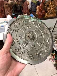 🚚 讓藏 材質:銅 直徑約18公分 出清價$4800 無貨到付款喔🙏🏻