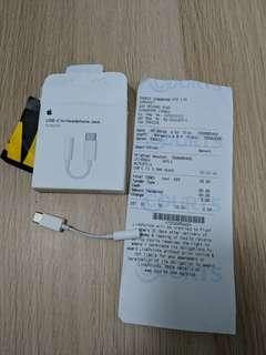 Apple USB-C to Headphone Jack