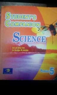 P5 Science student's companion