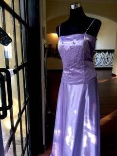 Lavander Gown