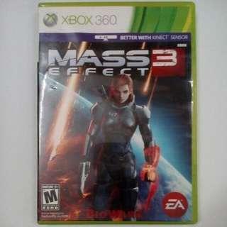 Original Xbox360 Mass Effect 3