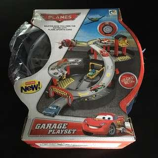 Planes Garage Playset