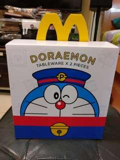 叮噹麥當勞 碗碟套裝 多啦a夢