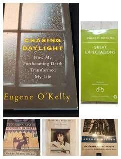 Fiction / classics / books [great holiday reading]