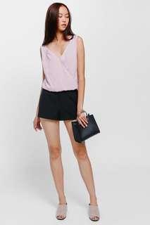 Love Bonito Shelna Shorts - Black (S)