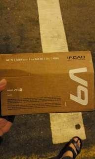 iRoad V9 Car Cam (front & rear)