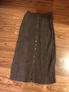 轉賣 lovemulli 灰色針織修身裙
