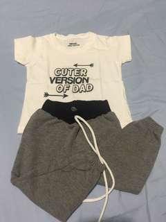 Set clothes (t shirt & pajama)