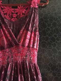 Pink pretty dress