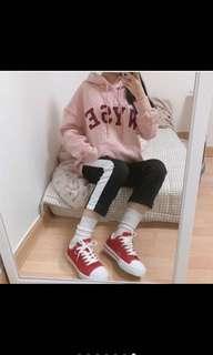 🚚 韓國代購🇰🇷WYSE粉色帽t