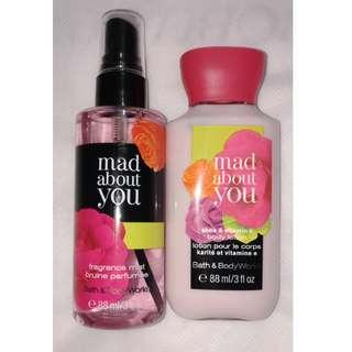 Bath & Body Works (mist & lotion)