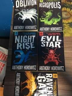 🚚 The power of five by Anthony Horowitz