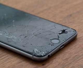 Damaged iPhone screen? Contact us now! iPhone repair