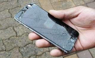 Cracked iPhone screen? IPhone Repair , Free Doorstep