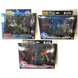 全新絕版 Gundam MIA Set Limited Version 高達套裝 限量版 (共3盒)