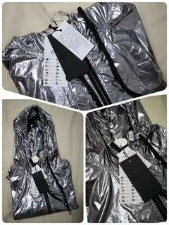 Cotton On Body Silver Jacket - S/M