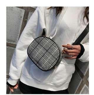 Tweed Sling Bag