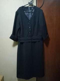 Dress Formal Kerja Pesta Afaf XL