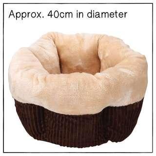"""Brown"" Super Soft Muffin Cat Cradle Bed"