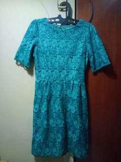 Dress Mini Pesta / Kondangan Brokat