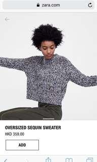 全新 zara knitwear 彩色 短身 冷衫 #sellfaster