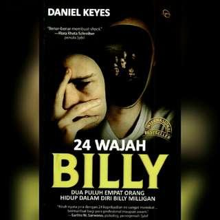 Ebook 24 Wajah Billy