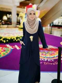 JUBAH LONG DRESS