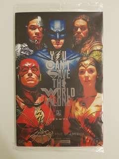 Justice League (2017) #15 Con Exclusive Movie Cover