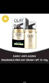 Olay Total Effects 7 in 1 day Cream Gentle SPF15 50g